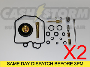 2 X Honda CX500 GL500 CX500C Carb Carburettor Repair Kit / Overhaul