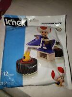 D47 Super Mario Kart K'nex Toad Hover Bike Building Set Polybag