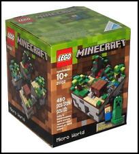 LEGO Minecraft Micro World 21102 - 480 Pieces Age 10+