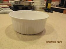 Corning Ware F-5-B French White Casserole  1.6 liter 1 1/2 quart