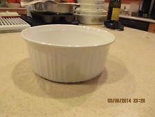 Corning Ware F-5-B French White Casserole  1.6 liter 1 1/2 quart