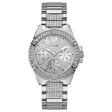 Guess Silver Tone Stainless Steel Women's Watch W1156L1