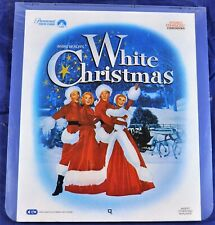 RCA VideoDisc CED - Irving Berlin's White Christmas, 1954 - Paramount, Sealed