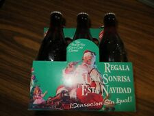 Coke limited edition Spanish Christmas 6oz. 6 pack