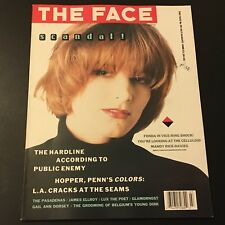 VINTAGE ART/FASHION MAGAZINE THE FACE #99 JULY/AUGUST 1988 BRIDGET FONDA