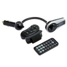 Transmetteur FM + Télécommande Volant + Kit Mains libres Bluetooth