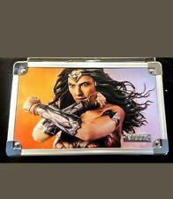 Wonder Women Vaultz Embossed Supply Box w/ Key/ Brand New