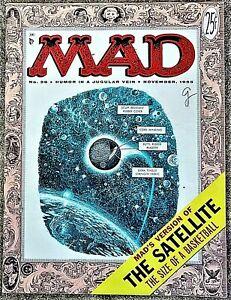 MAD Magazine #26 Nov 1955! VERY FINE+/NEAR MINT! 9.0! $0.99 Start! MAGNIFICENT!