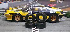 1/32 URETHANE SLOT CAR TIRES 2pr Set fits SCALEXTRIC Ferrari 308 GTB & 330P4