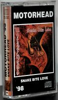 "Motorhead ""Snake Bite Love"" Rare Russian Cassette! Excellent condition!"