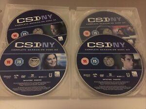 📀 Csi Ny Complete Season 3 Boxset No Cover, Discs Perfect 👌 📀
