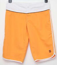 Animal board style shorts hem to hem 20 inches long orange coloured hoilday