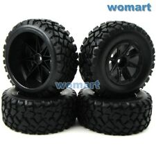 4pcs RC 2.2/3.0 Short Course Tires Wheels For 1/10 Traxxas Slash 4x4 Rally Car