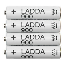 IKEA LADDA Rechargeable NiMH Batteries Size AAA 900 mAh 903.038.80