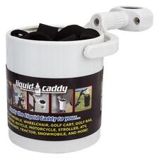 Liquid Caddy Drink Holder Drink Holder Liq Caddy Cup-white