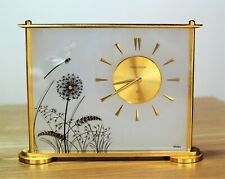 Jaeger LeCoultre Marina Clock 8 day Dragon fly Lucite