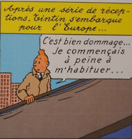 Herge (By) - Tintin IN America - 3 Lithographs Exlibris #2011