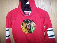 TODDLER  Chicago Blackhawks Reebok Face Off Collection Hoodie, MEDIUM  6/8 NHL