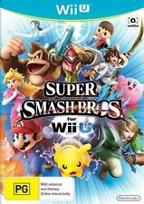 Super Smash Bros Brothers for Nintendo Wii U Original Aus Version