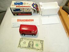 vintage Tamco Musical Toy Soundwagon Red VW Bus Record Player New In Box NIB NOS