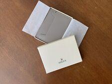 Rolex Branded Credit Card Holfer/Wallet BNIB