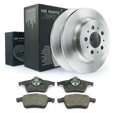 Bremsscheiben + Bremsbeläge hinten 288mm voll Volvo S60 S80 I TS V70 II P80 XC70