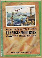ENCYCLOPÉDIE PAR L'IMAGE - LES NAGES MODERNES L'ART DE BIEN NAGER - NATATION