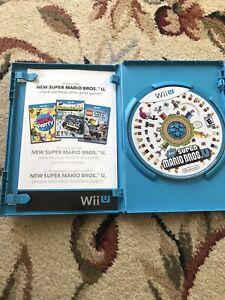 New Super Mario Bros. U (Nintendo Wii U, 2012) Tested Complete