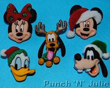 holiday heads disney christmas mickey minnie mouse dress it up craft buttons