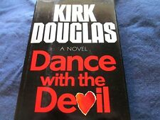 RARE~SIGNED x AMERICAN ACTOR ~ KIRK DOUGLAS ~ DANCE WITH THE DEVIL~1ST PRINTING