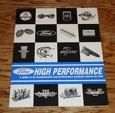 1964 1965 1966 Ford High Performance Sales Catalog 64 65 66 Mustang Fairlane