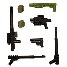 Kreo GI Joe Weapons Lot Of 8 Sniper Rifle Grenades Shotgun A3364 Hasbro 2012