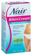 Nair Hair Remover Bikini Cream Sensitive Formula With Green Tea 1.7 Oz. Sale
