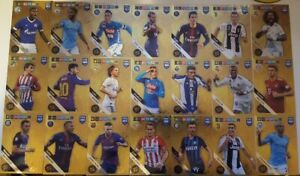 Panini Fifa 365 2018 2019 Update limited Edition Winter Star Top Master Messi...