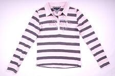 Tommy Hilfiger Langarmshirt Poloshirt Longsleeve Damen Größe 16