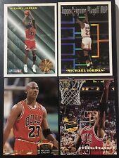 *** Michael Jordan ***  Four Mix Cards  ***