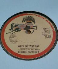 """GEORGE HARRISON - 7"""" Vinyl - When We Was Fab / Zig Zag - 1987 - Dark Horse"""