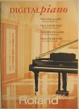 ROLAND DIGITAL PIANO EP SERIE HP SERIE HP G SERIE KR SERIE KATALOG PROSPEKT