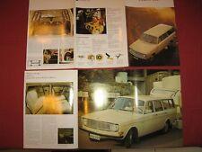 N°4265 / VOLVO dépliant break 145   decembre 1968