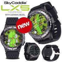 SkyCaddie LX5 with Ceramic Bezel GPS Golf Watch - NEW! 2020