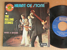 """DISQUE 45T THE ROLLING STONES  """" HEART OF STONE """""""