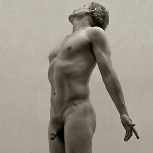GREGG FRIEDBERG - Signed Standing Male NUDE GAY Interest Ltd Edition Photograph
