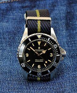 Steinhart Ocean 39 Explorer Automatic Diver's Watch Swiss Made Gnomon Ed. [Mint]