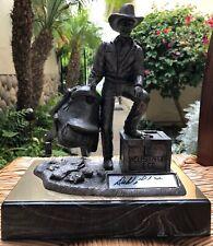 Famous Western Actor Dale Robertson Sculpture by Artist Michael Ricker