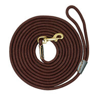Nylon Long Dog Tracking Leash Recall Obedience Rope Roll Leash 10/16/33/66ft