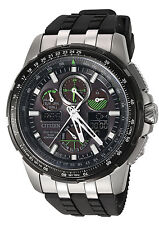Citizen JY8051-08E Men's Skyhawk World Time A-T Perpetual Calendar Watch
