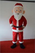 Santa Claus Mascot Costume Saint Nicholas Father Christmas Kris Kringle Adult