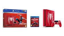 PS4 Slim 1 To Marvel's Spider Man Limited Edition avec Jeu-Bundle-UK Sealed!