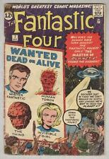 Fantastic Four #7 October 1962 G/VG Kurrgo