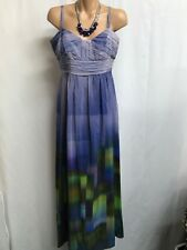 SABA SIZE 10 STUNNING SILK MAXI DRESS